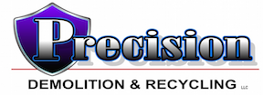 Precision Demolition & Recycling  Logo